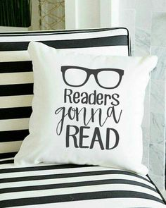 Readers Gonna Read: Cute Fashion/Decor Goodies at OFF for the Avid Reader in Your Life - MyStyle Book Lovers Gifts, Book Gifts, Book Club Parties, Book Pillow, Reading Pillow, Book Nooks, I Love Books, My New Room, Book Memes