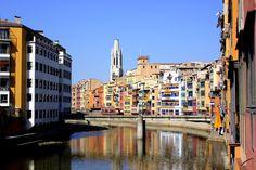 Girona vista des de l'Onyar