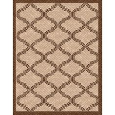 @Overstock - This beautiful flat-woven patio rug is constructed out of polypropylene, making it both durable and long lasting. Accented with geometric detailing, this heavyweight rug is also water, mildew, and fade resistant.http://www.overstock.com/Home-Garden/Woven-Bombay-Beige-Brown-Indoor-Outdoor-Patio-Rug-53-x-76/7672432/product.html?CID=214117 $103.67