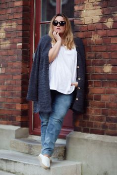 Plus Size Outfit Cardigan