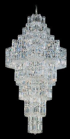 Schonbek 2727 29 Wide 63 Light Chandelier from the Equinoxe Collection Polished Silver Indoor Lighting Chandeliers Luxury Lighting, Home Lighting, Lighting Design, Lights Fantastic, Chandelier Pendant Lights, Chandeliers, Living Room Mirrors, Star Shape, Light Fixtures