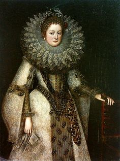 Frans Pourbus the younger (1569–1622)  Title	Portrait of a lady in Spanish dress. Date	1610s	 National Museum in Warsaw (NMW)