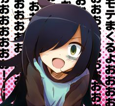 watamote. Tomoko es tan oscura, tan genial me encanta :3
