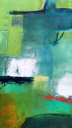 Abstract Painter, teacher Mark Bettis has his studio in Asheville's River Arts District.
