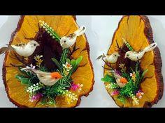 Very Realistic! How to Make Birds Nest Craft Using Clay Easy Diy Crafts, Diy Craft Projects, Handmade Crafts, Bird Nest Craft, Cardboard Organizer, Wall Decor Crafts, Pringles Can, Artificial Birds, Cardboard Crafts