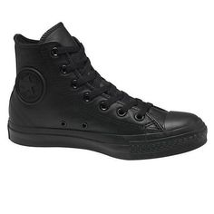 Converse Chuck Taylor High Top - Mono Leather Black 037ee80c950