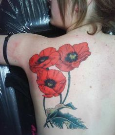 Poppies tattoo - 60 Beautiful Poppy Tattoos