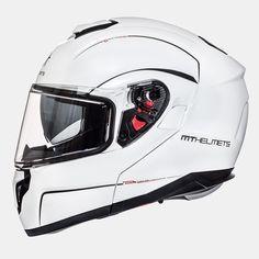MT ATOM sv Modular Helmets (WHT). *DOT//ECE*