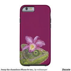 Jenny the chameleon iPhone 6s tough case