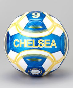 Blue & White Chelsea Soccer Ball