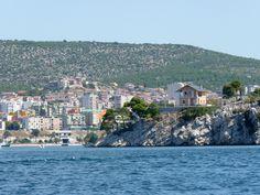 Stadt vom Meer aus Kroatien http://ift.tt/1fZx0UU