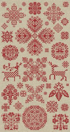 Through The Bitter Frost & Snow - 37 Christmas Ornaments - Instant Download PDF…