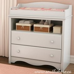 Walmart: South Shore Heavenly Collection Changing Table, Pure White
