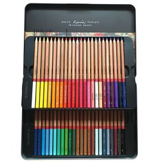 newdoer Marco Renoir 100 couleurs Crayons de couleur ...