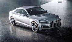 Audi S5 advertisement rendered in KeyShot by Nils Piirma.