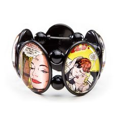 Lovely Comic Romance bracelet by Joolz Hayworth.