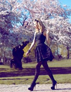 2-piece dress by Betsy Johnson! So much love!   Stylist: Thea Acierno  Photographer: Daniela Majic  MUA/Hair: Jilly Ijoe