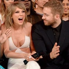 "Pin for Later: Calvin Harris Praises ""His Girl"" Taylor Swift For Changing the Music Industry"