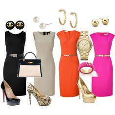 """Sheath Dresses"" by mjmychaels on Polyvore"