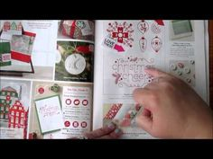 Stampin Up Holiday Catalog 2014/2015 Beauty and the Stamper Jean Piersanti Demonstrator Video