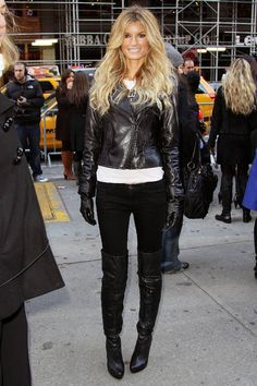 Marissa Miller. Leather love... so ny me