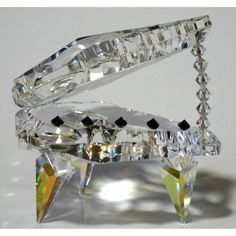 Large Crystal Piano made with Swarovski Crystal