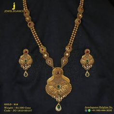 Image may contain: jewelry Diy Necklace, Necklace Designs, Fashion Necklace, Fashion Jewelry, Gold Necklace, Necklaces, Gold Mangalsutra Designs, Gold Jewellery Design, Antique Jewellery