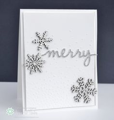 FMS200 - Merry - SU - Softly Falling TIEF - Christmas + new SU embellishments!