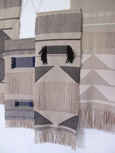 Handwoven wall hanging/ Tapestry/ Fiber art/ Weaving/ by LaTorna