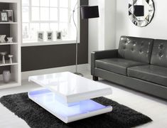 White High Gloss Coffee Table With 1 Drawer. Ninove I White High Gloss Coffee Table From Furniture Of . Design Coffee Table Rotating In White High Gloss With 3 . Home and Family Unique Coffee Table, Coffee Table Design, Modern Coffee Tables, Tiffany White, Coffee Table With Drawers, Contemporary Dining Table, Coffee Table Wayfair, Round Table Top, Cool House Designs