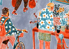 Serco Prize '15 Pattern Illustration, Children's Book Illustration, Let's Make Art, Graphic Wallpaper, Illustrations And Posters, Stop Motion, Art Inspo, Cool Art, Sketches