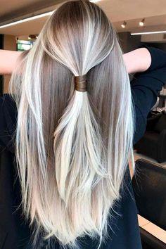 80+ Platinum Blonde Hair Color Ideas Trending In 2021 | LoveHairStyles Platinum Blonde Hair Color, Blonde Hair Shades, Blonde Hair Looks, Dark Blonde Hair, Ombre Hair Color, Cool Hair Color, Hair Colors, Cool Toned Blonde Hair, Corte Y Color