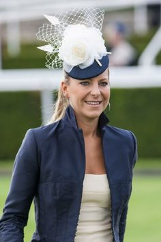 Ladies Day at Glorious Goodwood 2012. love with the structured collar