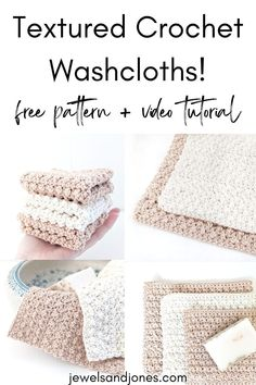 Crochet an easy dishcloth with this free crochet pattern. You can use this crochet cotton washcloth for many different things. #crochetdishcloths #freecrochetpattern #crochetwashcloth#crochethomedecor