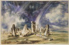 Stonehenge, John Constable, 1835