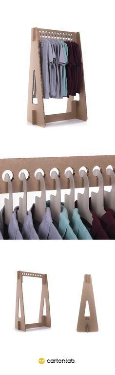 Cardboard Design, Cardboard Paper, Cardboard Furniture, Clothes Hanger Rack, Garden Room Extensions, Displays, Sustainable Design, Pop Up Stores, Furniture Making