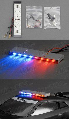 Hobbypartz 1 10 Scale Led Police Light Bar Rc Pinterest Police
