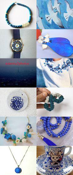 splash of blue by Eleni on Etsy--Pinned with TreasuryPin.com