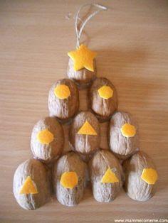 Mamme come me: Natale: albero di noci !