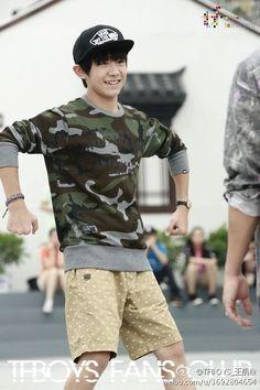 Jackson Yi, teenboy fashion