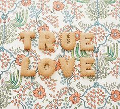 """True Love from Fryd+Design: """".love don't cost a thing"""" My Funny Valentine, Love Is All, True Love, Dessert Halloween, Kawaii, Happy Weekend, Cute Food, Daydream, Cookies Et Biscuits"""