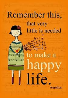 """Divine Spark:  """"Remember this: that very little is needed to make a #happy #life.""""  ---Aurelius."""