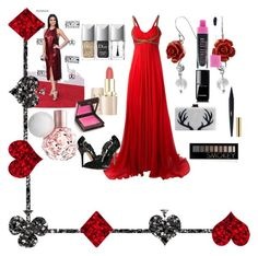 """""""Untitled #33"""" by simple-as-louise on Polyvore featuring Notte by Marchesa, Oscar de la Renta, Bling Jewelry, Christian Dior, Edie Parker, Forever 21, Chanel and Jouer"""