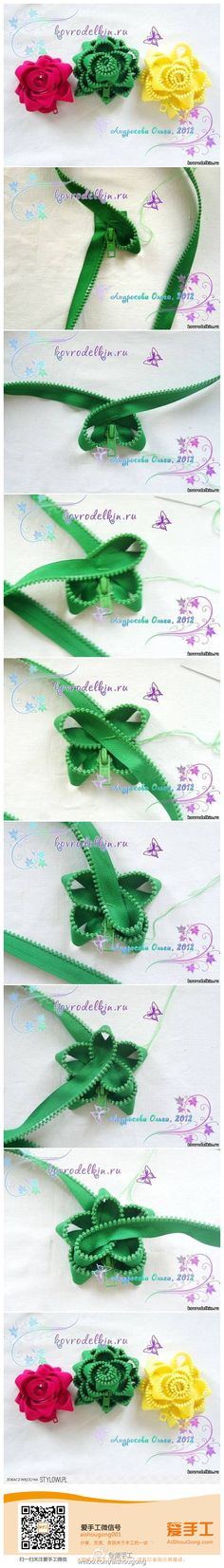 Repurpose for old zipper