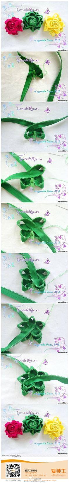 Repurpose for old zipper