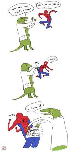 Property of Peter Parker.