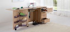 Amazing sewing desk!! Love this website.