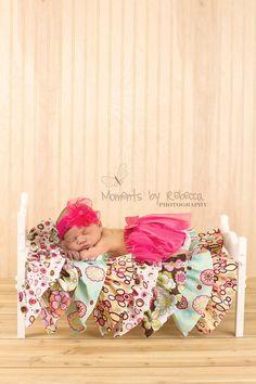 Single Doll Bed Photography Prop Girl door TheWoodenWorkshops