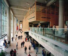 endroit préféré à Montréal - Grande Bibliothèque | Patkau Architects Croft Pelletier Architectes MSDL