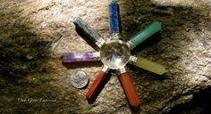 Seven Stone Chakra Energy Cone by OakGroveEmporium on Etsy